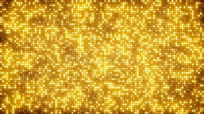 Le scintillement d'or pointille le fond abstrait illustration libre de droits