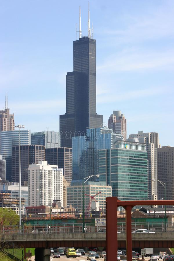 Le Sears Tower Chicago, l'Illinois image stock