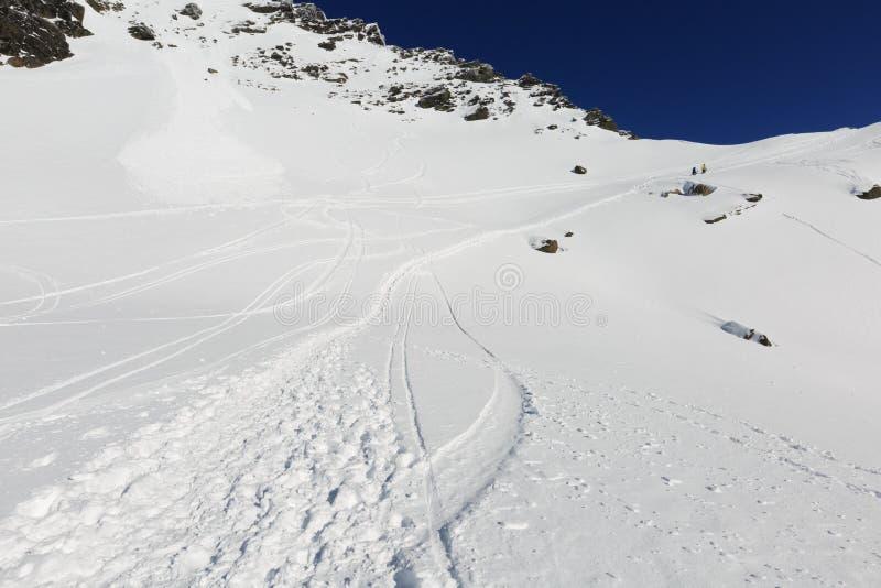 Le secteur de ski de remarkables photos stock