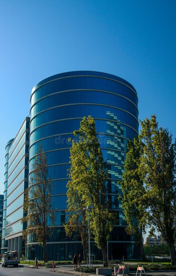 Le sedi di Oracle situate a Redwood City fotografie stock