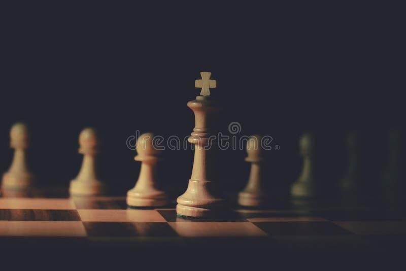 Le seigneur d'échecs images libres de droits