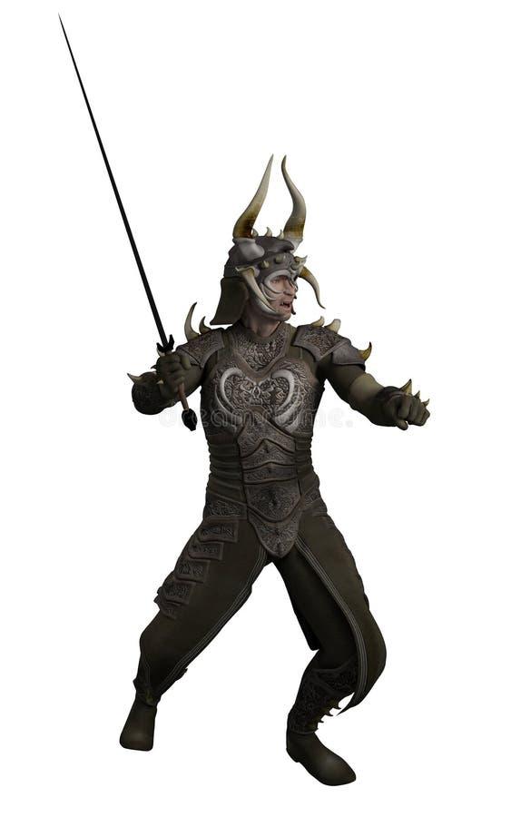 Le seigneur de dragon illustration libre de droits
