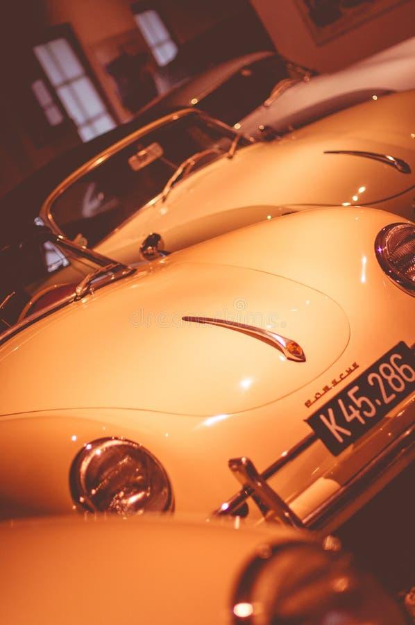 Le seul musée privé de Porsche en Europe est situé dans la ville de Gmund, Autriche image stock