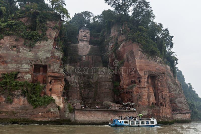 Le Shan - China - Dafo de Le Shan fotos de stock royalty free