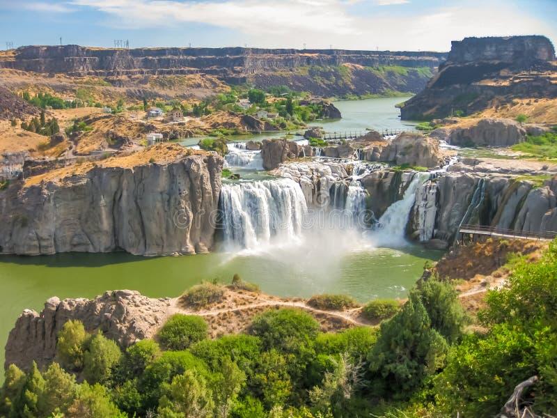 Le Shoshone tombe l'Idaho photo stock