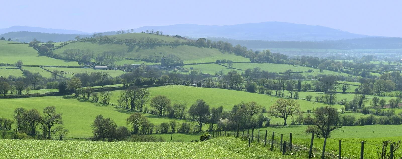 Le Shropshire image libre de droits