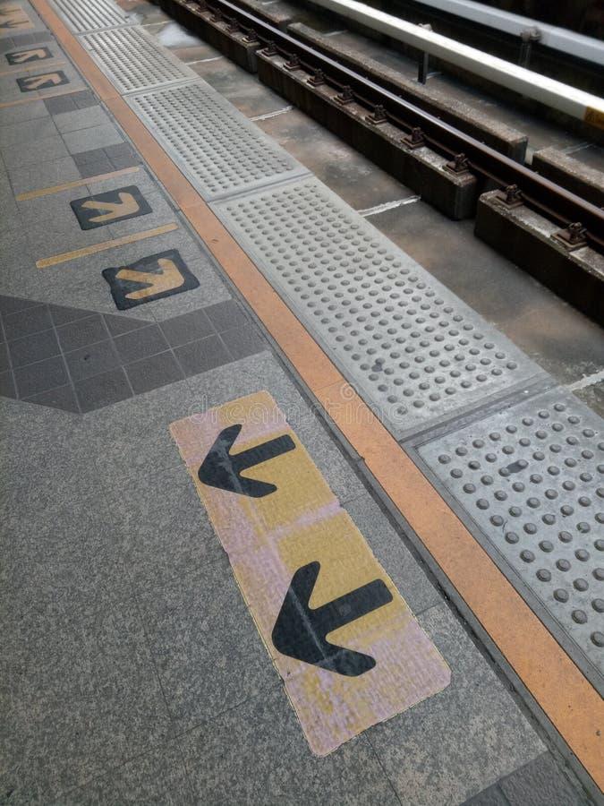Le signe de marche du trafic vont le long de la droite de virage à gauche de tour tout droit photographie stock libre de droits