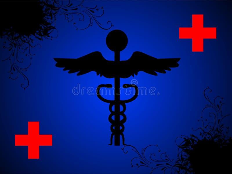 Le signe du docteur avec le plus illustration stock