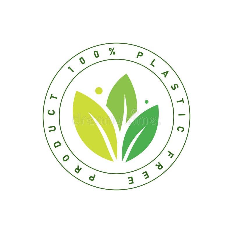 Le signe libre en plastique de produit pour des labels, autocollants dirigent l'illustration images libres de droits
