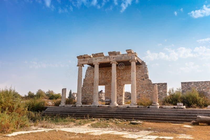 Le site archéologique de Miletus une ville du grec ancien sur la côte occidentale d'Anatolie images libres de droits