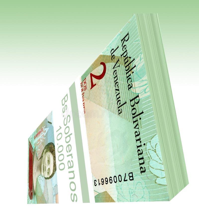 Le soberano bolÃvar est la devise principale du Venezuela depuis le 20 août 2018 photographie stock