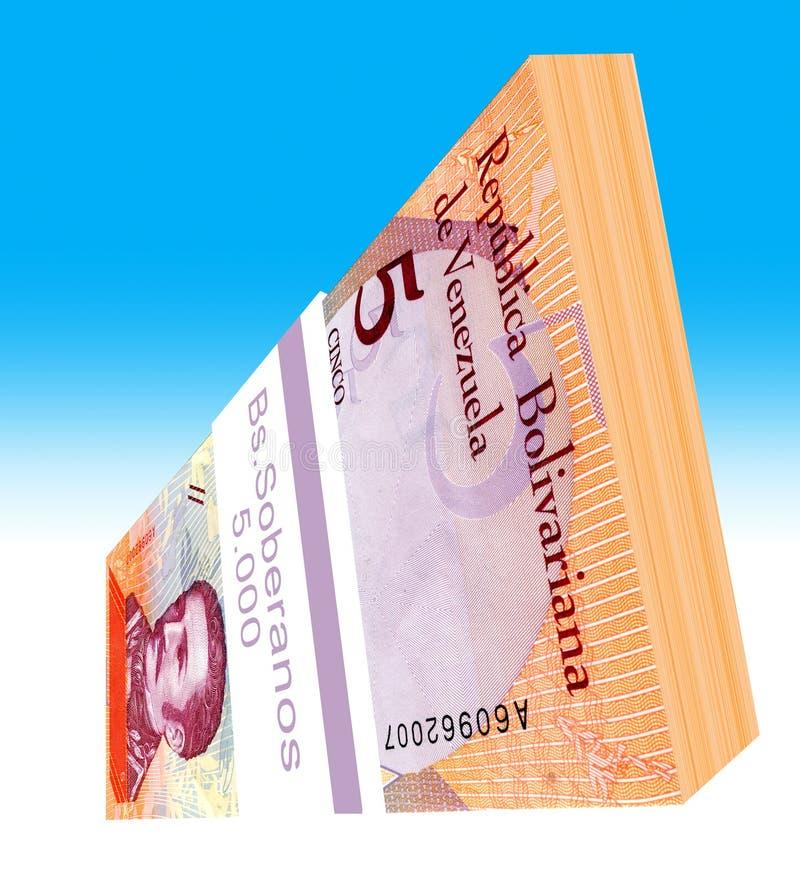 Le soberano bolÃvar est la devise principale du Venezuela depuis le 20 août 2018 images libres de droits