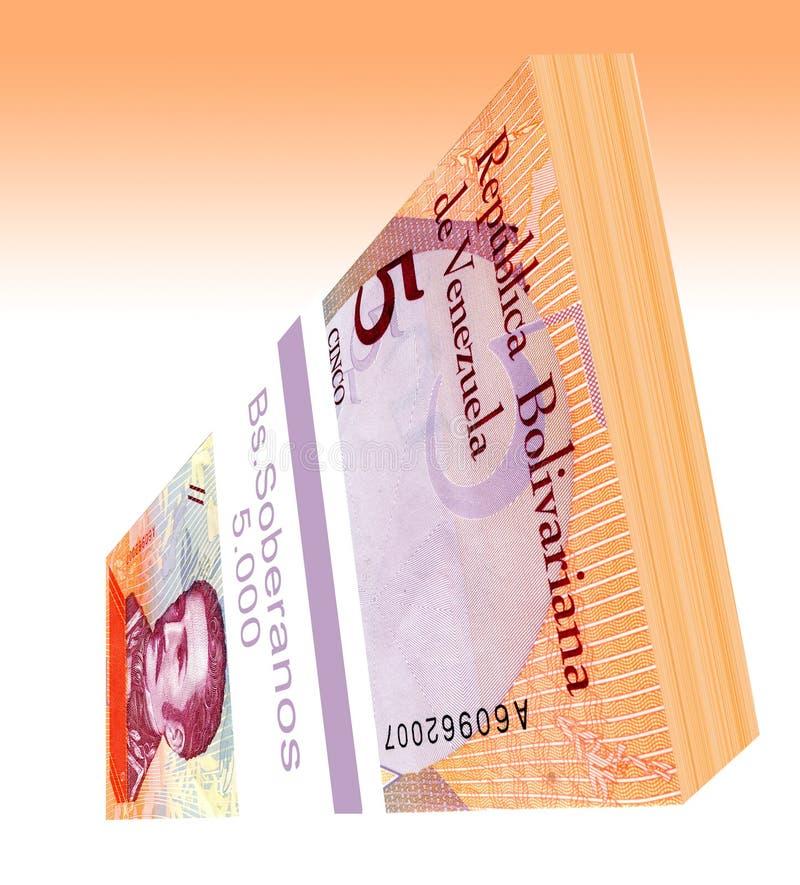 Le soberano bolÃvar est la devise principale du Venezuela depuis le 20 août 2018 image stock
