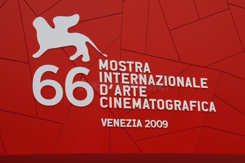 Le soixante-sixième festival de film international de Venise images stock