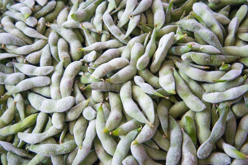 Le soja congelé photos libres de droits
