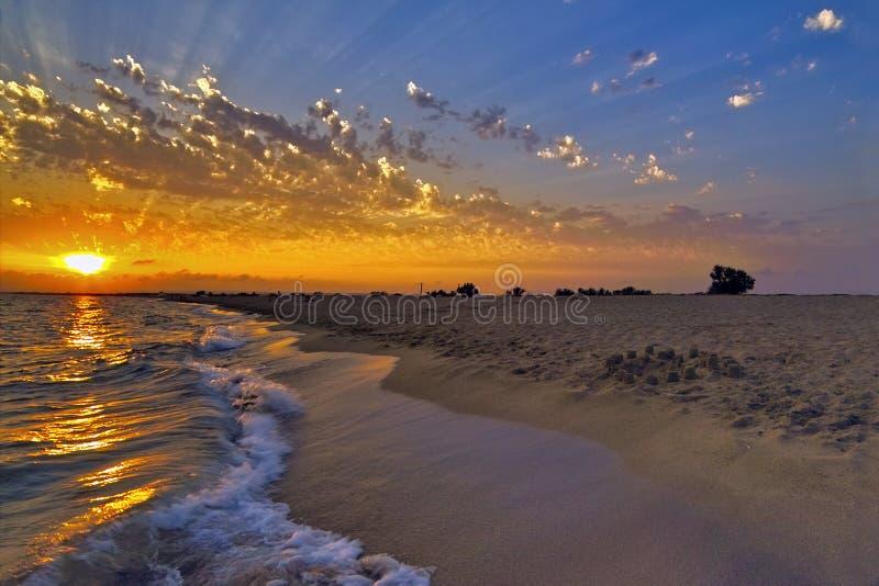 le soleil de biem photographie stock