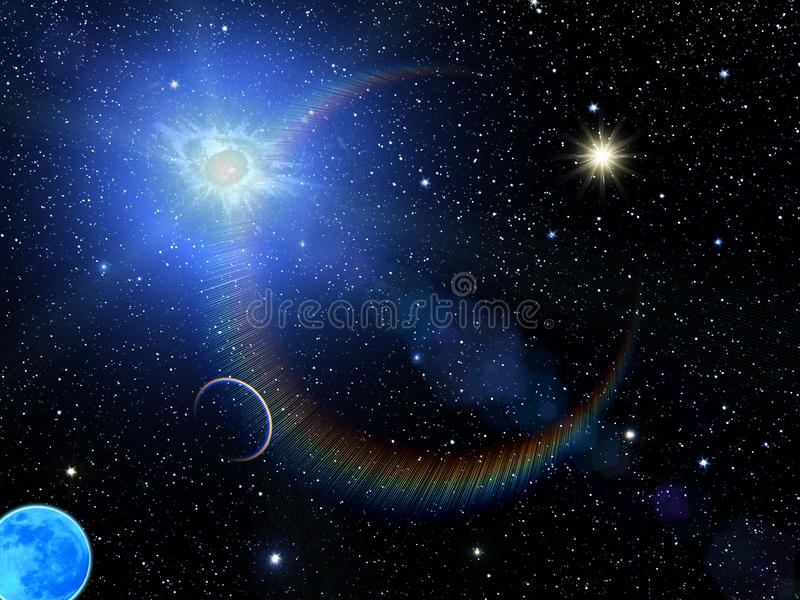 Le soleil de ciel stars la constellation images stock