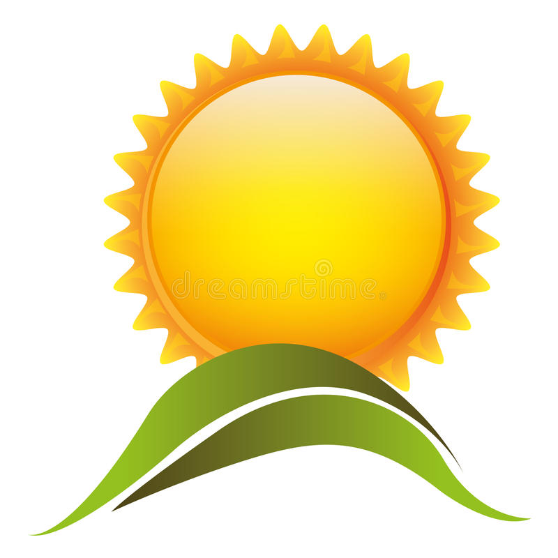 Download Le Soleil De Couleur Avec L'icône De Montagne Illustration Stock - Illustration du outdoors, dessin: 87707020