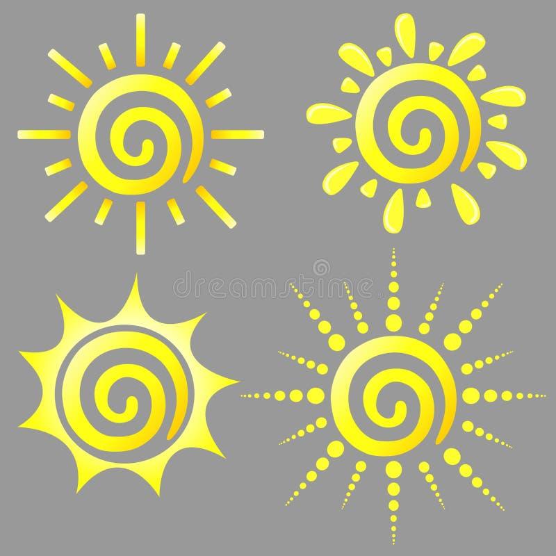 Le soleil de Dreamstime images libres de droits