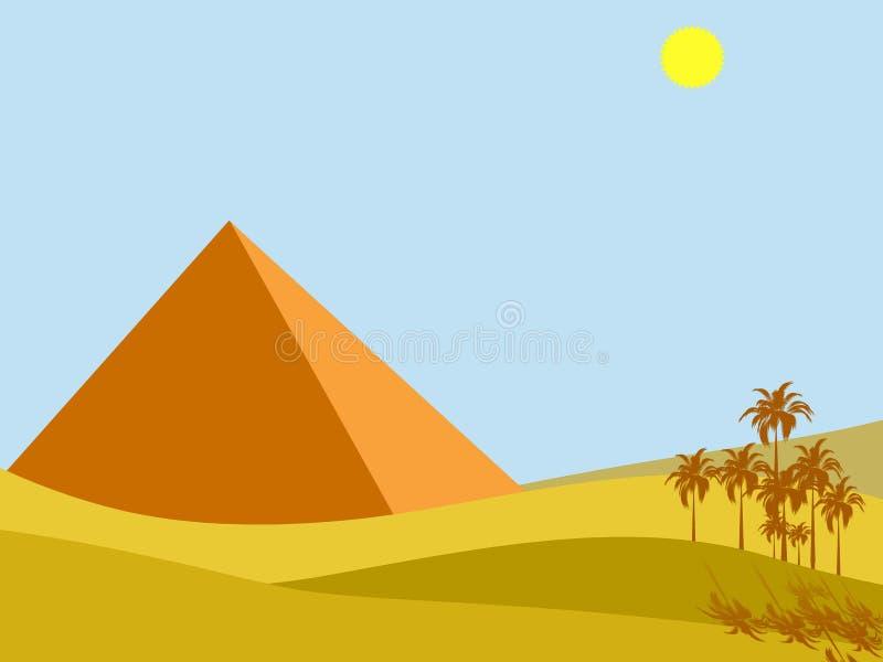 Le soleil de l'Egypte photo libre de droits