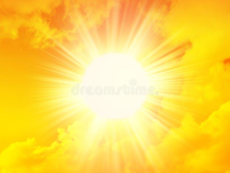 Le soleil de matin photo stock