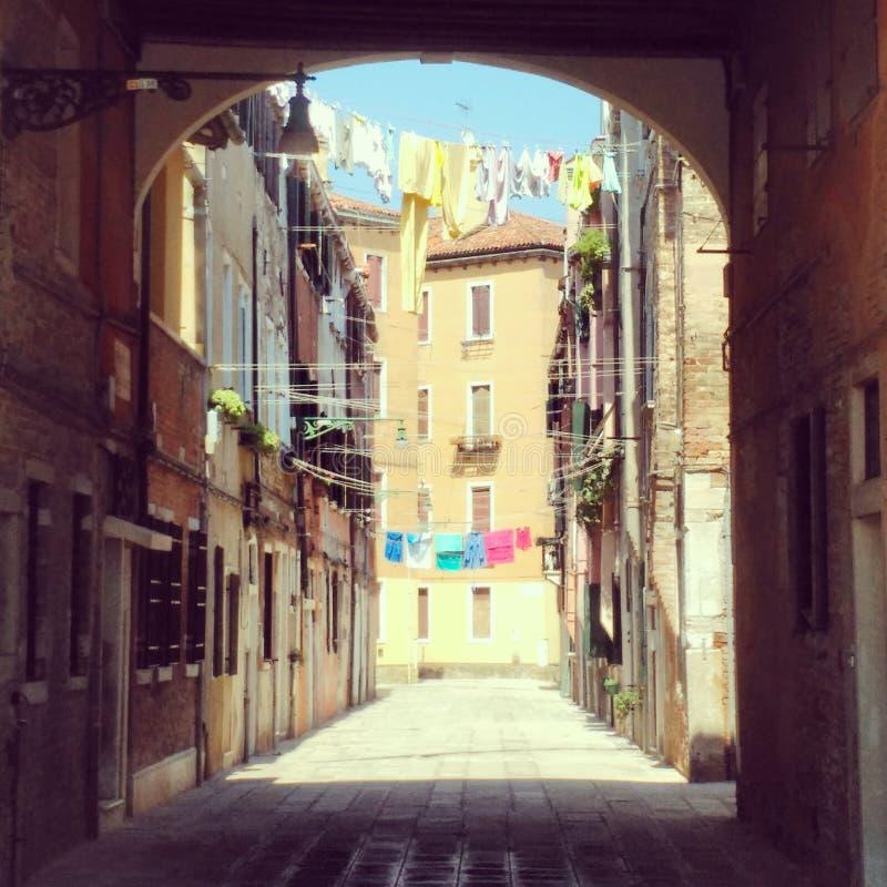 Le soleil de Venise image libre de droits