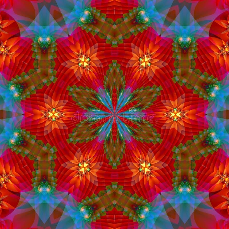 Le soleil indien 5 illustration de vecteur
