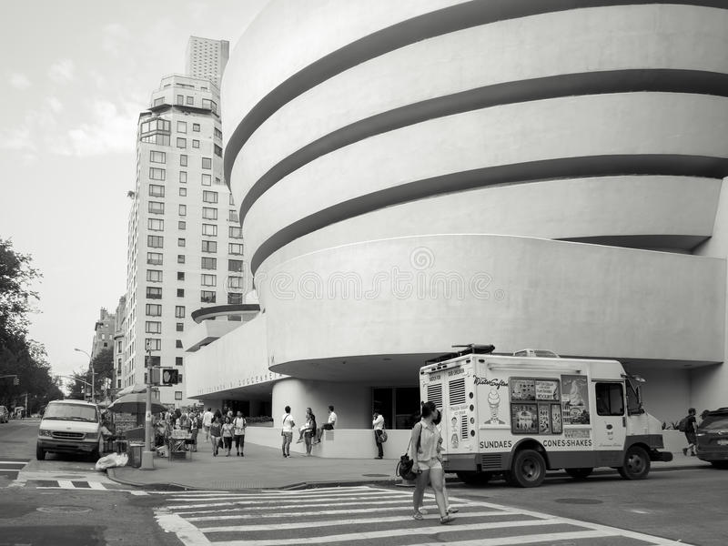Le Solomom R Musée de Guggenheim à New York City photographie stock