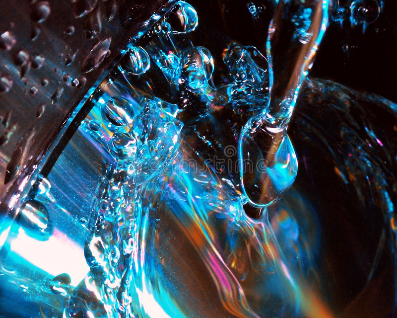 Le son de l'eau photographie stock