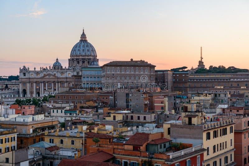 Le sort malheureux catholique principal à Vatican photographie stock