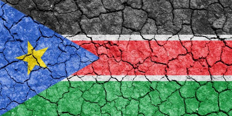Le Soudan du sud illustration libre de droits