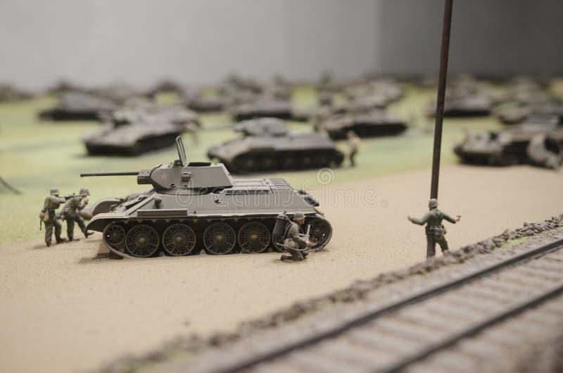 Le Soviétique échoue lors du fonctionnement Prokhorovka, 1943 photo libre de droits