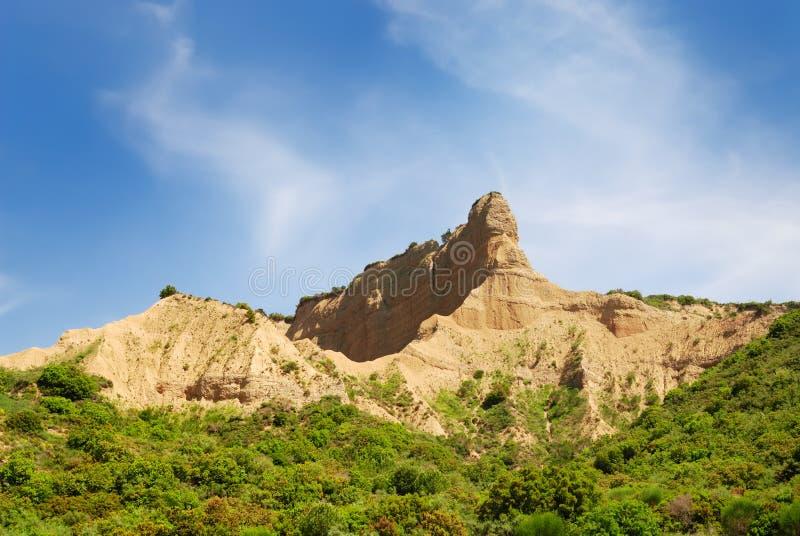 Le sphinx a formé historiquement la colline célèbre dans Gallipoli Turquie photos stock