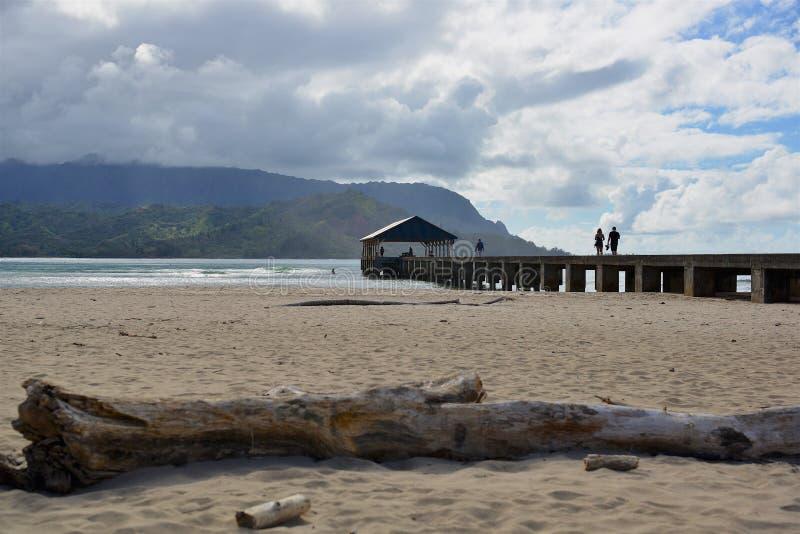 Le spiagge di Kauai fotografia stock libera da diritti