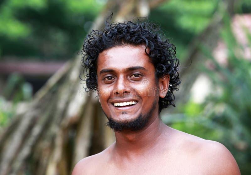 Le Sri Lanka l'homme images stock