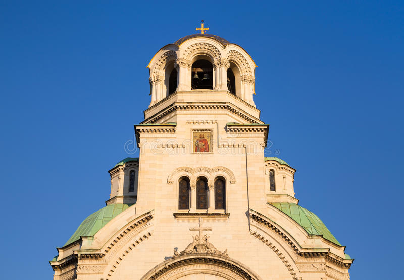 Le St Alexander Nevsky Cathedral, Bulgarie photographie stock libre de droits