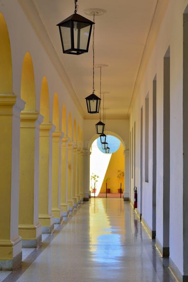 Le St Francis du couvent et de l'église d'Assisi Le Trinidad, Cuba photo stock