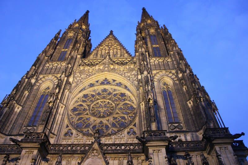 Le St Vitus Cathedral image libre de droits