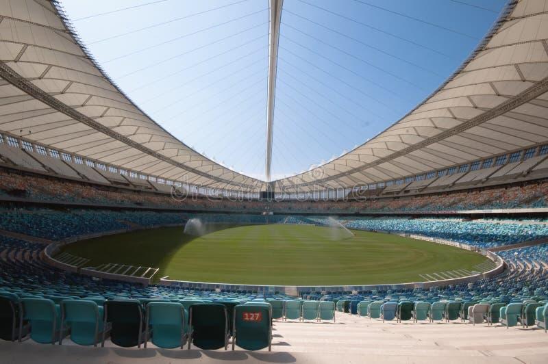 Le stade de football de Durban Moïse Mabhida image stock
