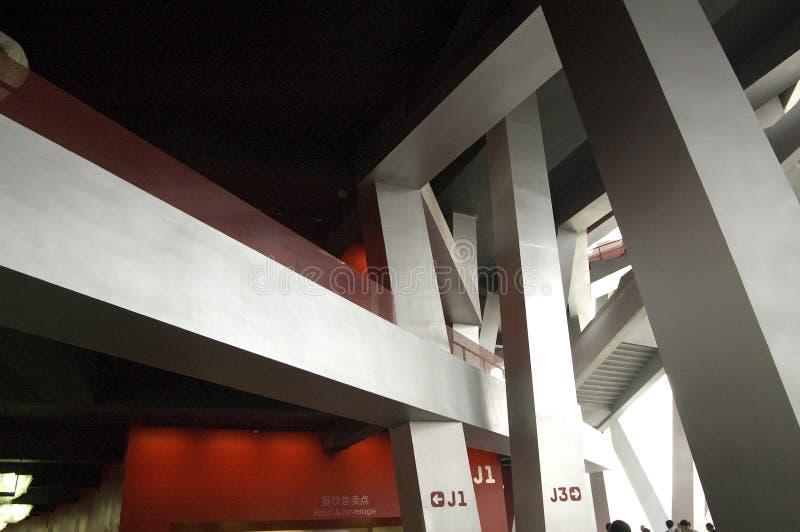 Le stade de national de Pékin photo libre de droits