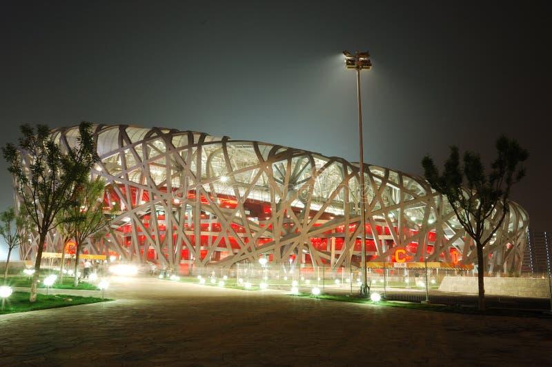 Le stade de national de Pékin photo stock