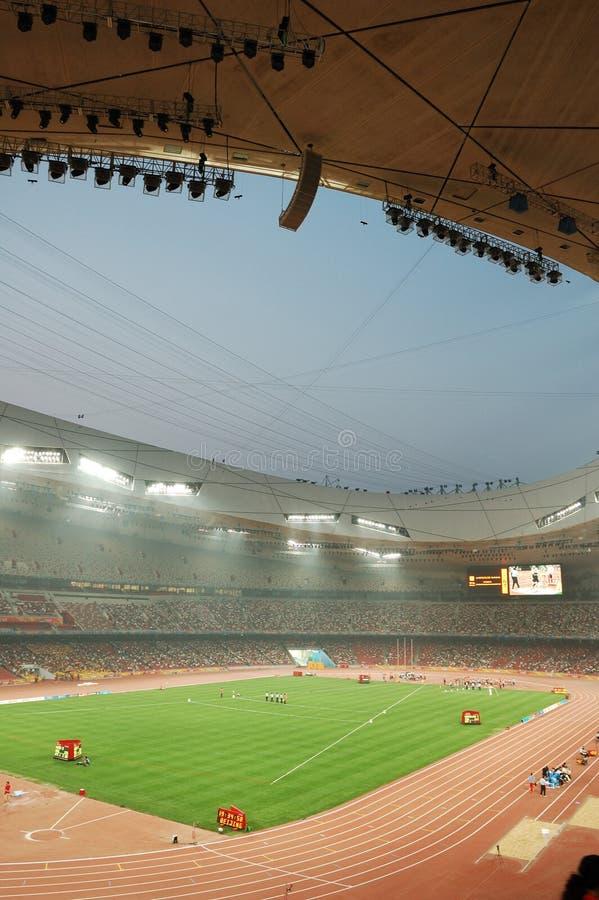 Le stade de national de Pékin photographie stock
