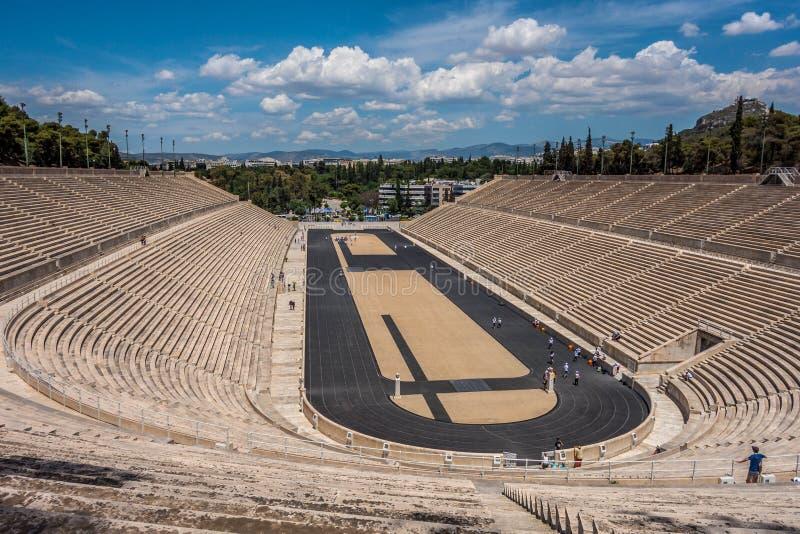 Le stade de Panathenaic, Athènes, Grèce photographie stock