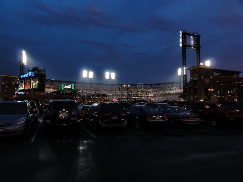 Le stade Etats-Unis de St Louis images libres de droits