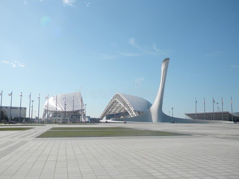 Le Stade Olympique à Sotchi photo stock
