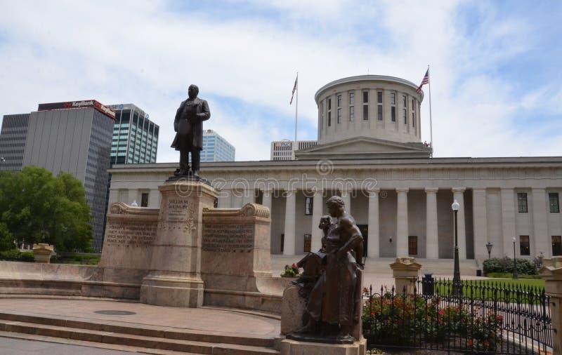 Le Statehouse de l'Ohio, Columbus, OH photographie stock libre de droits