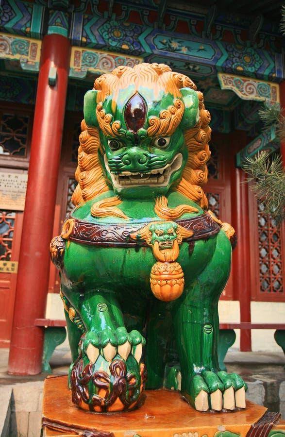 Le stationnement Cong-Tai historique dans Handan photographie stock libre de droits