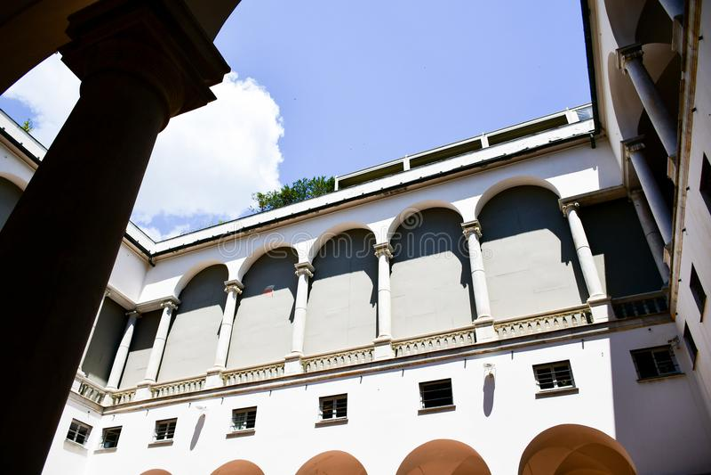 Le Strade Nuove Genova, Italia fotografia stock