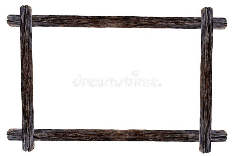 Le strutture di legno della foto di progettazione con i rami del fiore della buganvillea è fotografie stock libere da diritti
