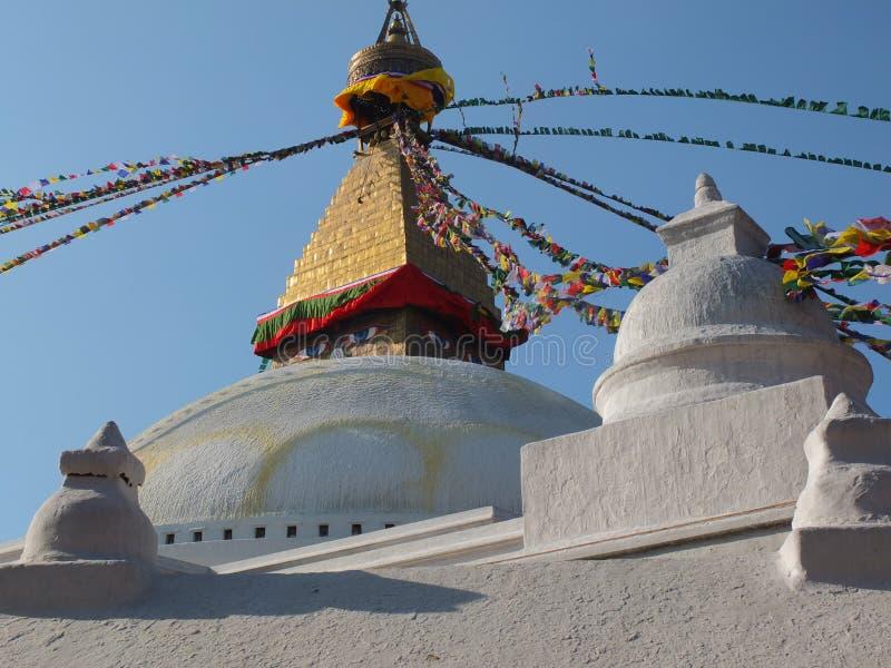 Le Stupa de Bodnath, Népal photos libres de droits